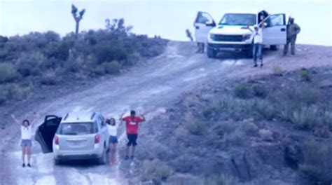 family area shows family held at gunpoint at area 51 openminds tv