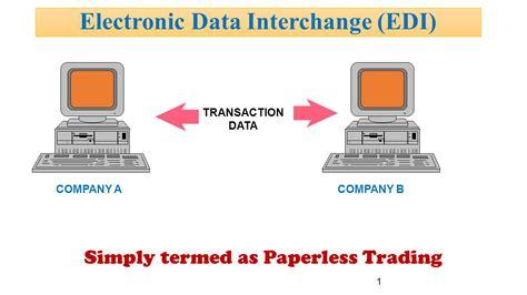 For Edi electronic data interchange edi ppt
