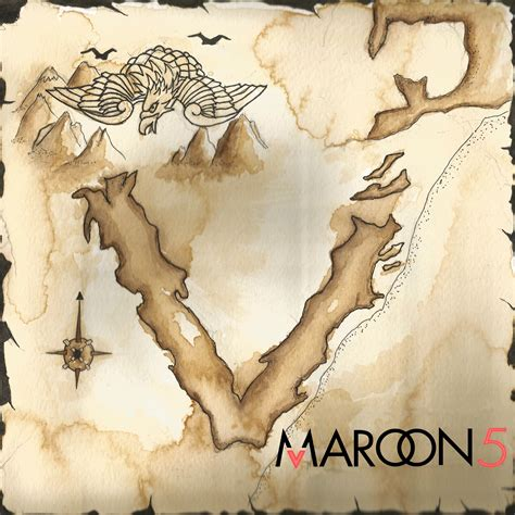 Maroon 5s New Album Hits Stores Today by Maroon 5 Album Cover By Hazelmead On Deviantart