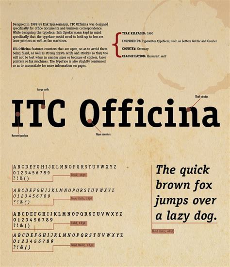 Officina Serif by 17 Best Images About Fonts On Typography Type