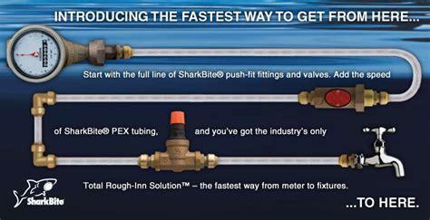 Plumbing Shark Bites by Sharkbite Connection System