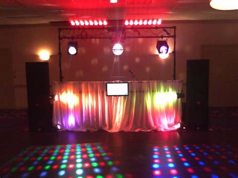 simple dj lighting setup dj setups xv djs professional djs in chicago