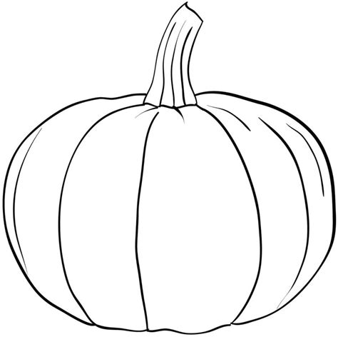 pumpkin coloring pictures only coloring pages