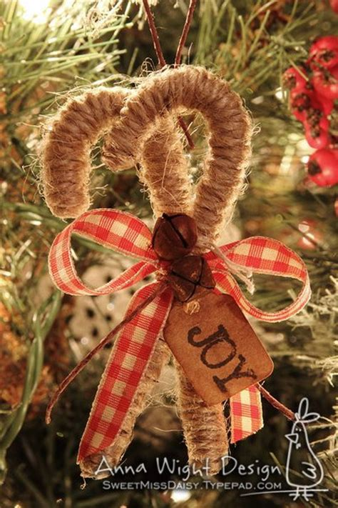 Handmade Tree Decorations - 20 decoration ideas tutorials hative