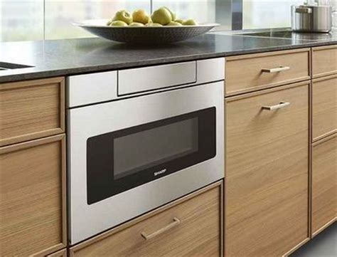 Counter Drawer Microwave by Recommended Microwave Drawers For Your Kitchen Homesfeed