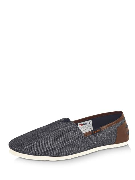 denim loafers buy zobello denim casual loafers for s blue
