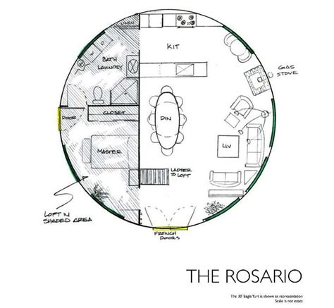 Yurt House Plans Rainier Yurts The Rosario C Mon Who Needs A House Bigger Than This Until There S Lots Of