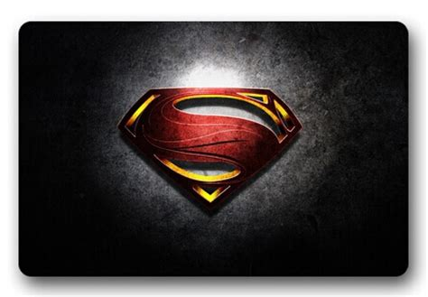 Design Custom Superman 016 compare prices on superman rug shopping buy low