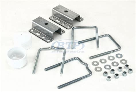 universal boat trailer guides boat trailer universal guide pole and post mounting u bolt kit