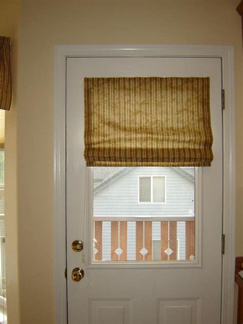 Blinds For Doors With Windows Ideas Door Window Blinds Functionality Window Treatments Design Ideas