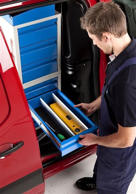 cassettiere per furgoni attrezzature per furgoni