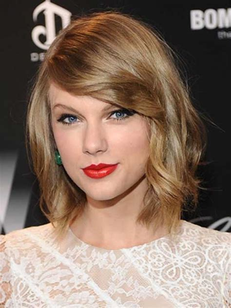 taylor swift new haircut celebrities with short hair and bangs short hairstyles