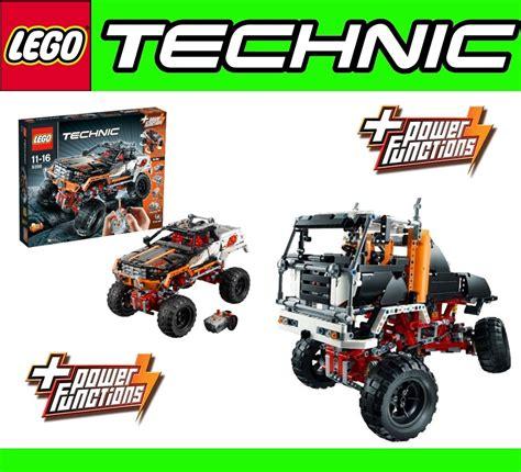 Lego Technic Remote 4x4 Crawler Jeep 9398 New Misb Lego 9398 Technic 2in1 Rc Crawler 4x4 Road