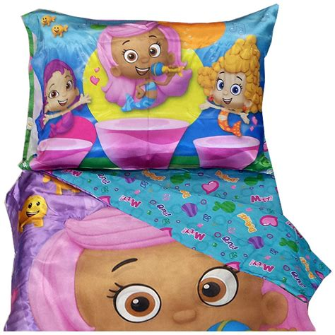 bubble guppies toddler bed set bubble guppies