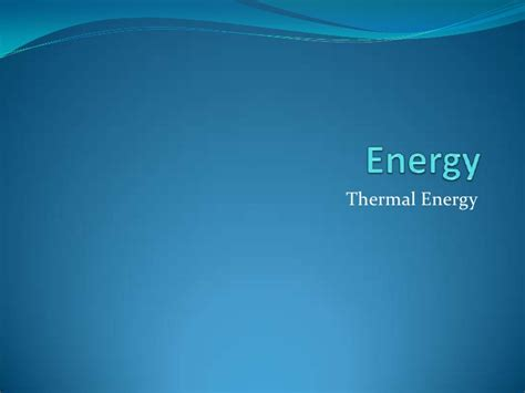 heat thermal thermal energy heat transfer