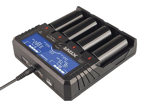 Xtar Vp4 Plus Charger Baterai xtar vp4 plus 4 slot professional battery charger and tester