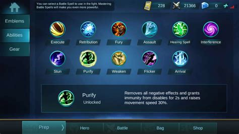 tutorial mobile legend mobile legends battle spell tutorial take your game to