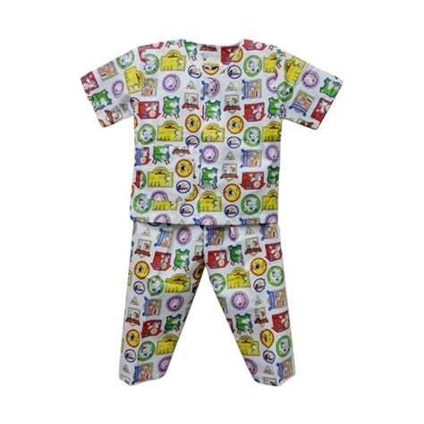 Baju Tidur Anak Laki Laki Size Besar Motif Kartun jual hoshi motif snpy baju tidur bayi laki laki harga kualitas terjamin blibli