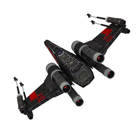 fliese 70 x 70 wars x wing black t 70 3d model max obj fbx dae mtl