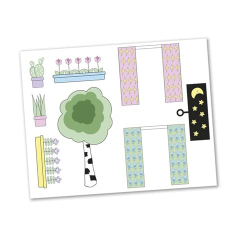 Sticker Stiker Set Thule Sweden k 246 p lundby sticker set blommor p 229 babyland se