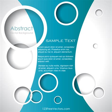 free design vector templates circle background illustrator template download free
