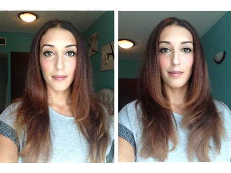 diy haircut before and after my first ever d i y layered haircut make up by dee dal