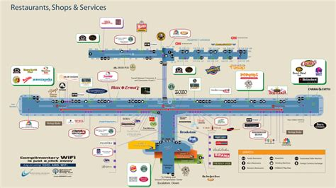 houston airport map food dtw seriously ups their food eater detroit