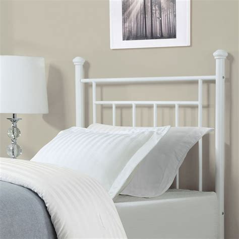 white metal headboard bedroom stunning white metal headboard headboards