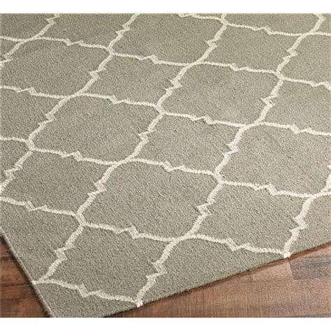 dhurrie soho trellis rug 3 colors shades of light