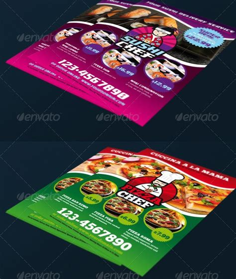 delivery flyer template food delivery bundle flyer flyers