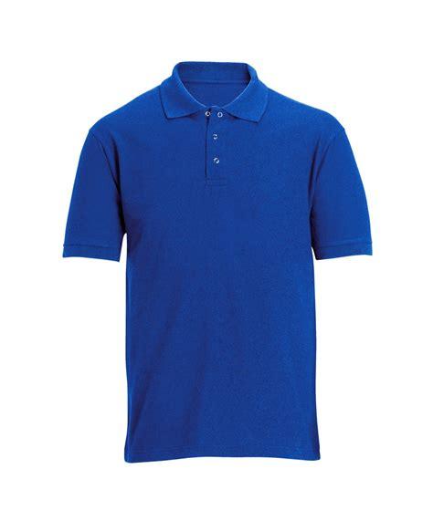 Inc Polo Shirt Royal Blue stud front work polo shirt workwear alexandra