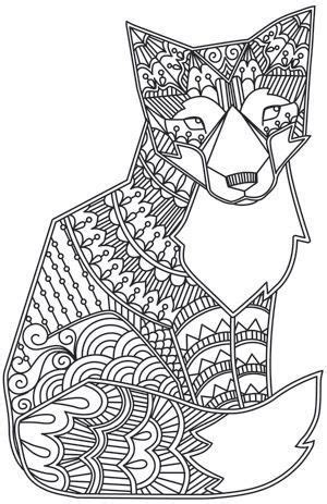 coloring pages adults foxes to print this free coloring page 171 coloring adult fox