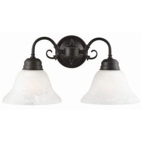 design house millbridge design house millbridge 2 light oil rubbed bronze wall