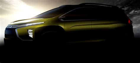 mitsubishi crossover 2016 mitsubishi to unveil small crossover mpv concept at giias