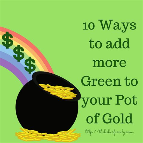 10 Ways To Add Green To Your Wardrobe by The Liebers 10 Ways To Add More Green To Your Pot Of Gold