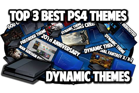 ps4 themes top ps4 themes top 3 best ps4 dynamic themes video in 60fps