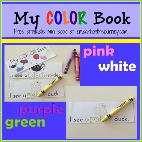 color my coloring book books free coloring pages my colors mini book free preschool