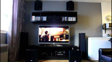 polk audio rtia home theater set  youtube