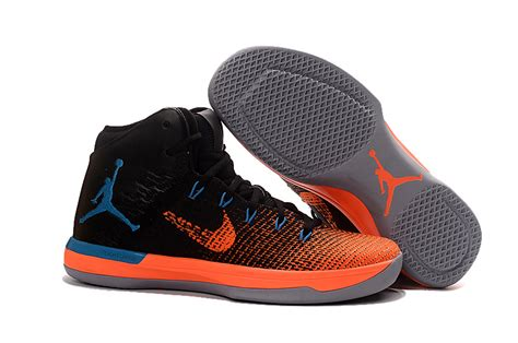 basketball shoes sale 2017 air 31 xxx1 black orange blue basketball shoes