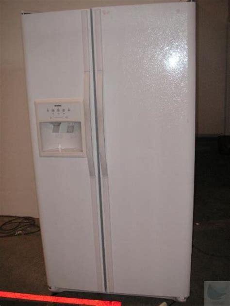 sears kenmore 253 5466240a 25 cu ft side by side