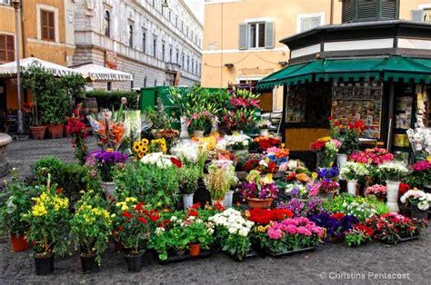 co de fiori market rome flower market i