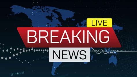 breaking news  motion banner  worldmap business
