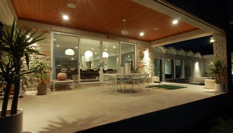Modern Patio Lighting Inexpensive Patio Cover Ideas Patio Modern With Ceiling Lighting Concrete Paving