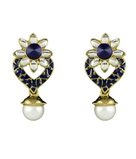 flower design earrings online r18jewels fashion u floral designer earrings buy