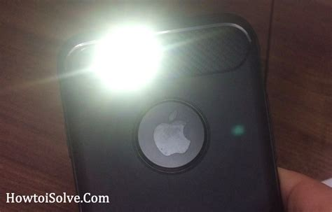 how to turn off flashing light on iphone how to turn off turn on led flash alerts on iphone every