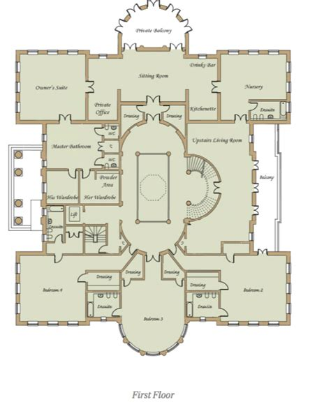 homes of the rich readers revised floor plans to