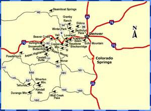 map of ski resorts colorado explore amerika ski resorts