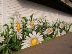 Garden Wall Murals Ideas ideas about garden mural on pinterest murals flower mural and wall