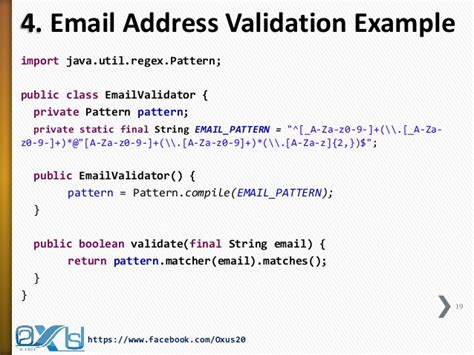 pattern regex email java regular expression part ii