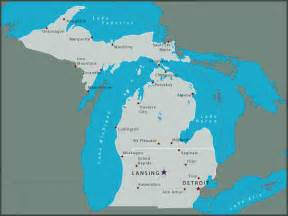 Michigan State Park Map by Michigan State Parks Online Reservations